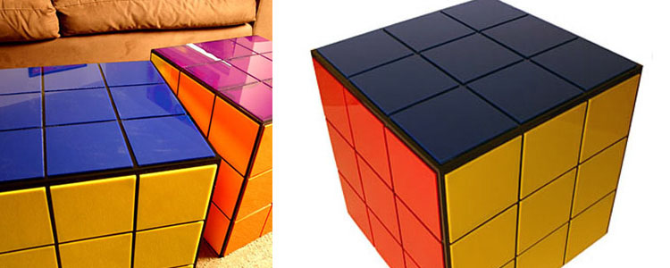 Rubik's Cube Coffee Table