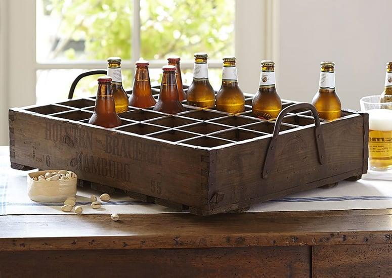 Rustic German Beer Crate The Green Head