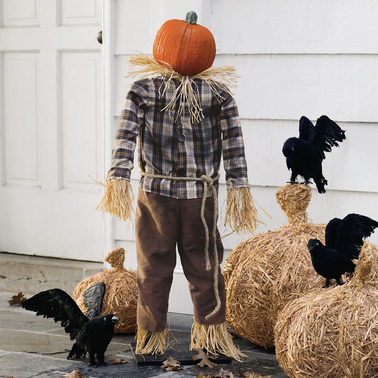 Thanksgiving Alcohol: Scarecrow Pumpkin Stand