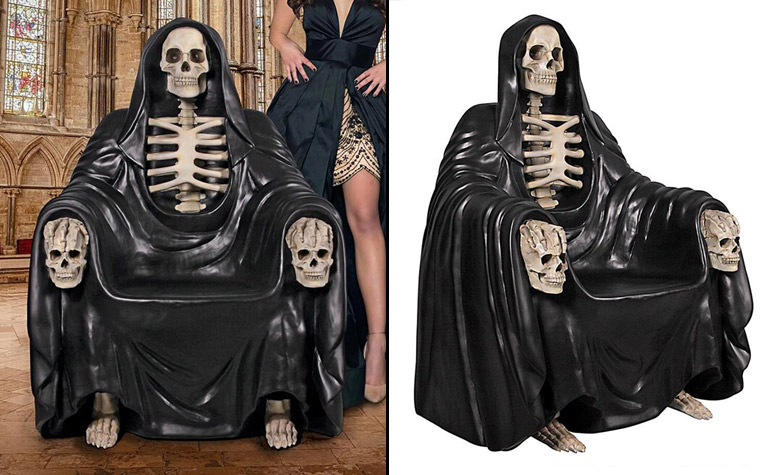 Seat Of Death - Grim Reaper Throne Chair