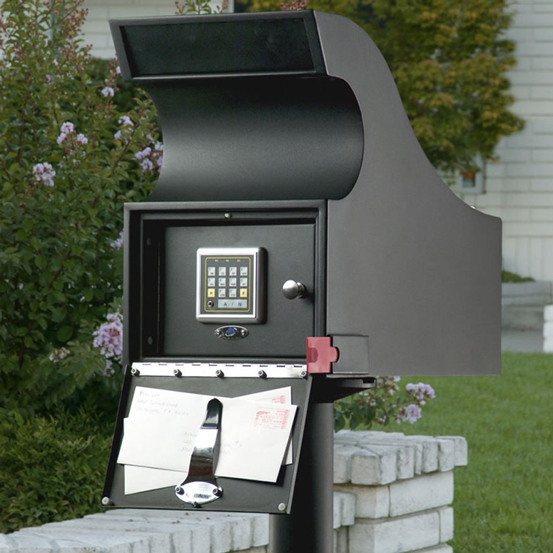 Secure Mail Vault Keyless Locking Mailbox