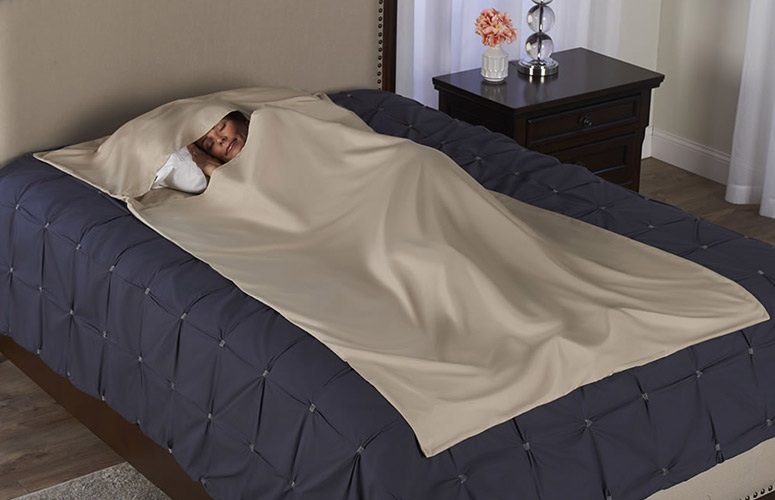 Self-Sanitizing Sleep Cocoon