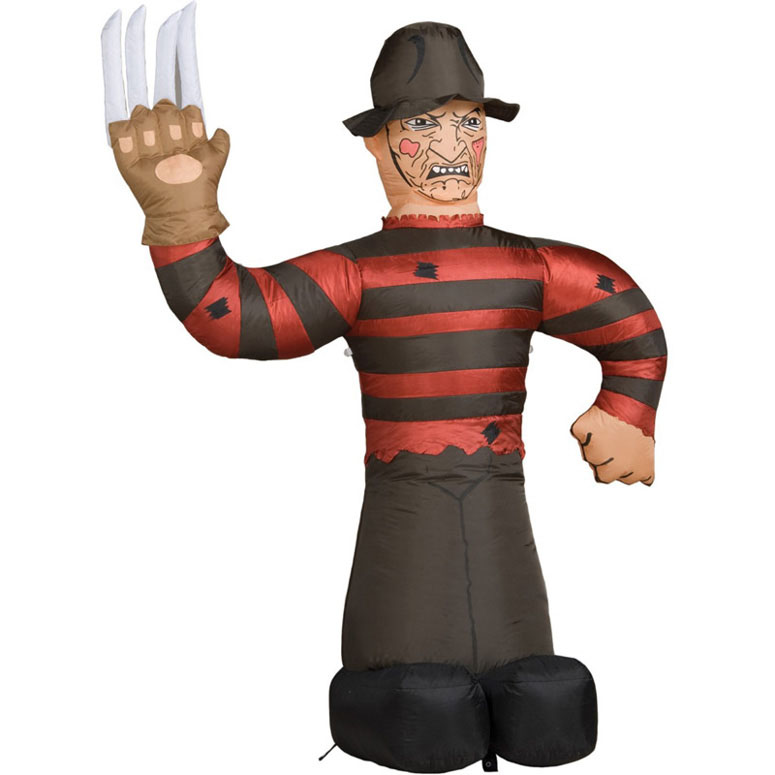 7 inflatable freddy krueger - Freddy Krueger Halloween Decorations