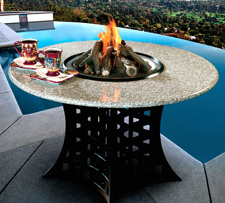 Wonderful Shanxi Granite Hearth Table   Fire Pit, Grill Or Ice Bucket!