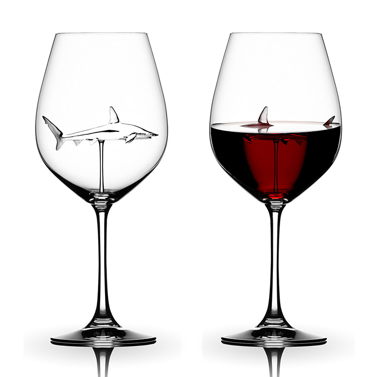 Details about  /Built-In Shark Goblet Glass Wine Glass Wine Glass Shark Glass Red Wine R7W3