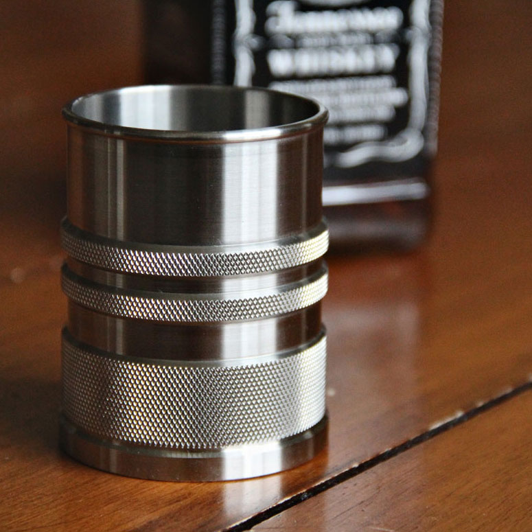 ShotShell XL - Stainless Steel Whiskey Glass