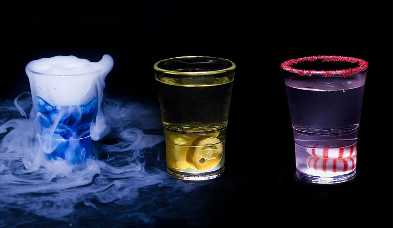 Sidekick Shot Glasses - Infuse Your Booze With Extra Flavor