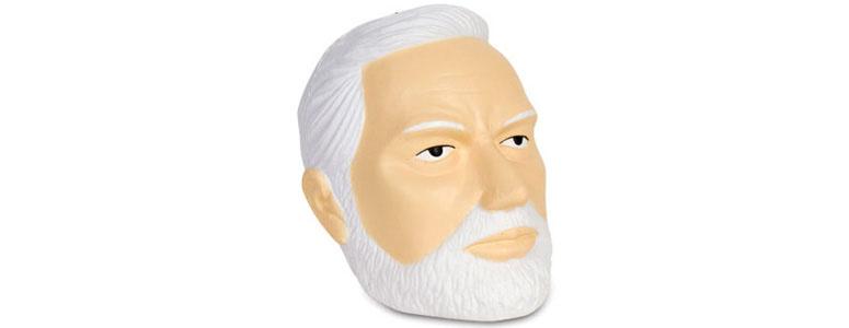 Sigmund Freud Head Stress Ball The Green Head