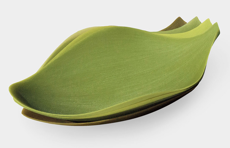 Silicone Leaf Plates The Green Head