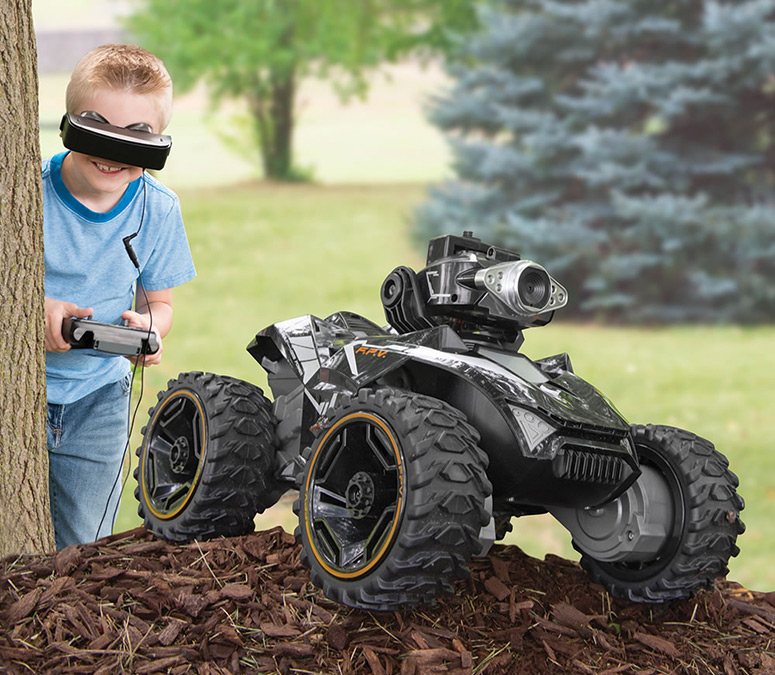 Silverlit Spy Rover - RC Vehicle With Real-Time FPV Video Camera