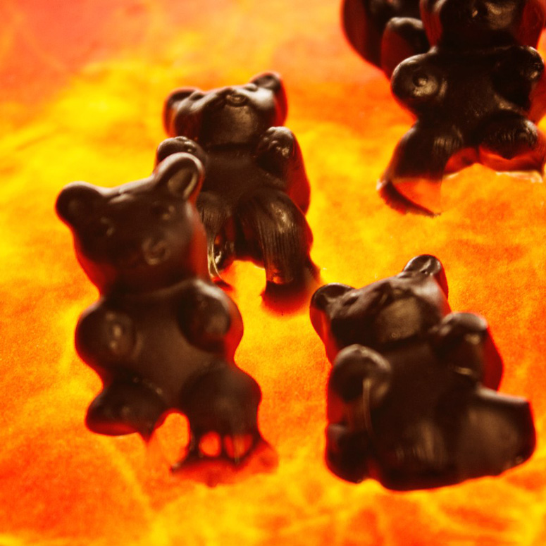 Sinister Ghost Pepper Gummy Bears