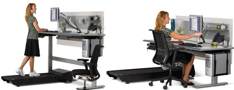 Sit To Walkstation Treadmill Desk   Sit, Stand Or Walk!