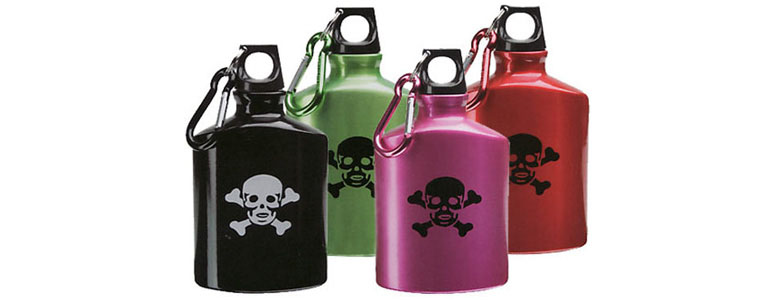 Skull & Crossbones Poison Flask