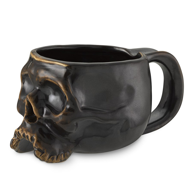Skull Mugs The Green Head