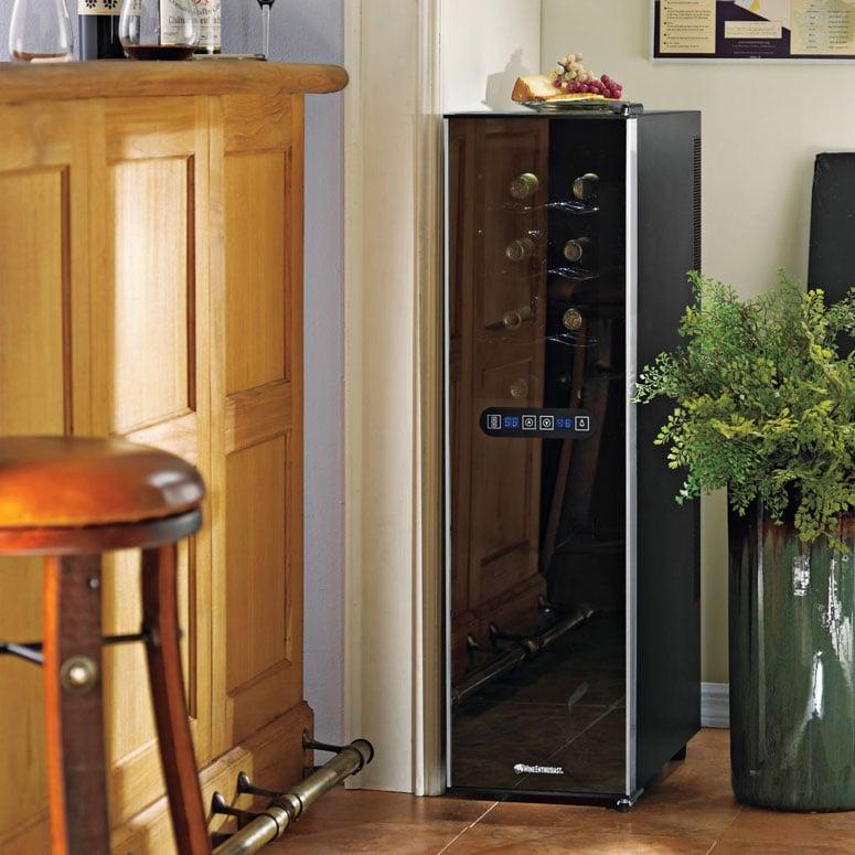 Slimline Touchscreen Wine Refrigerator