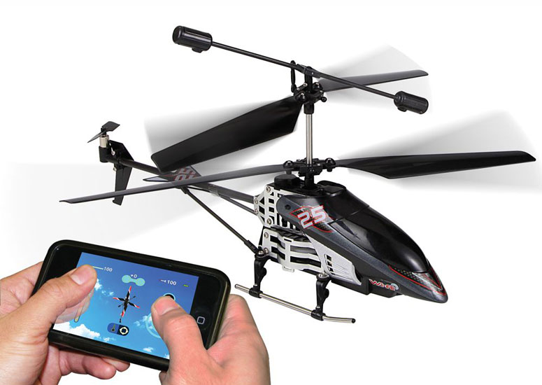Smartphone Controlled Helicopter