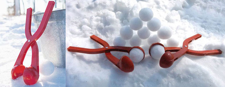 Sno-Baller - Perfect Snowball Maker