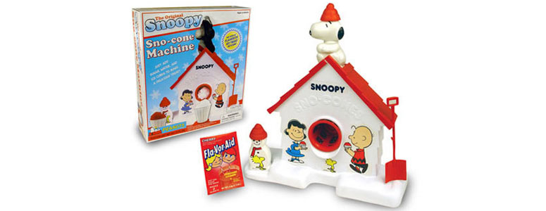 Original Snoopy Sno-Cone Machine