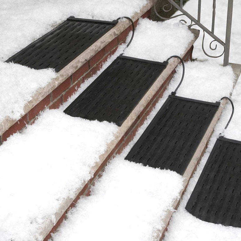 Heattrak Snow And Ice Melting Heated Stair Treads The