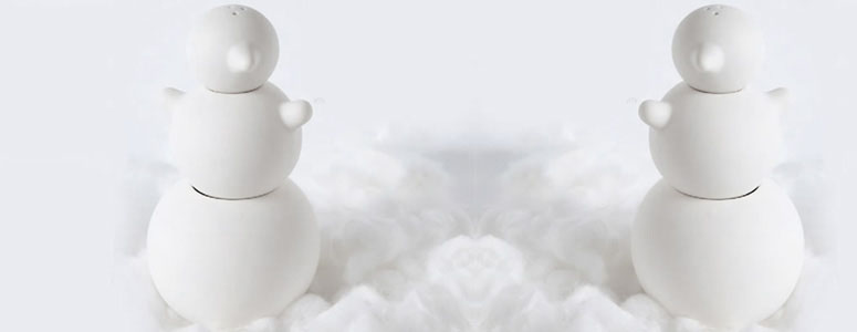 Snowman Shakers - Salt, Sugar and Pepper