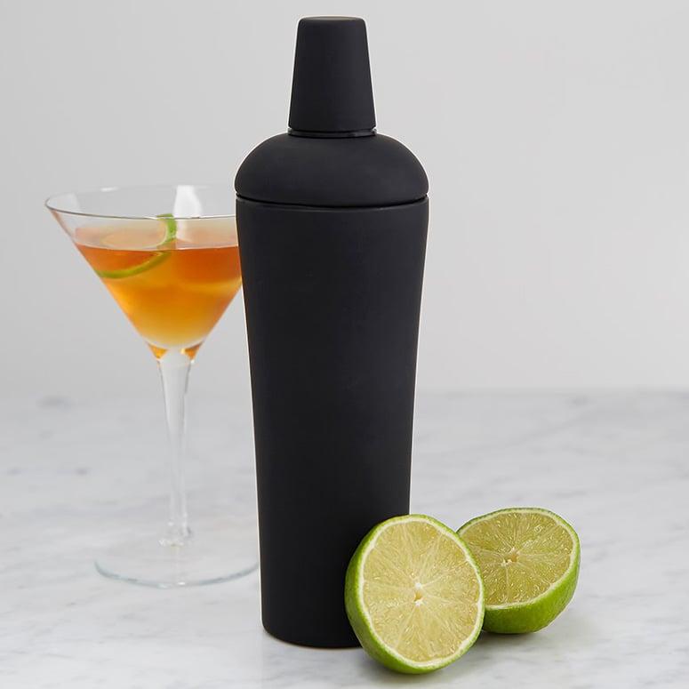 Soft Grip Black Nuance Cocktail Shaker