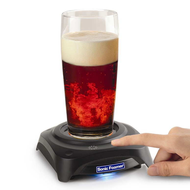 Sonic Foamer - Ultrasonic Beer Head Reviver