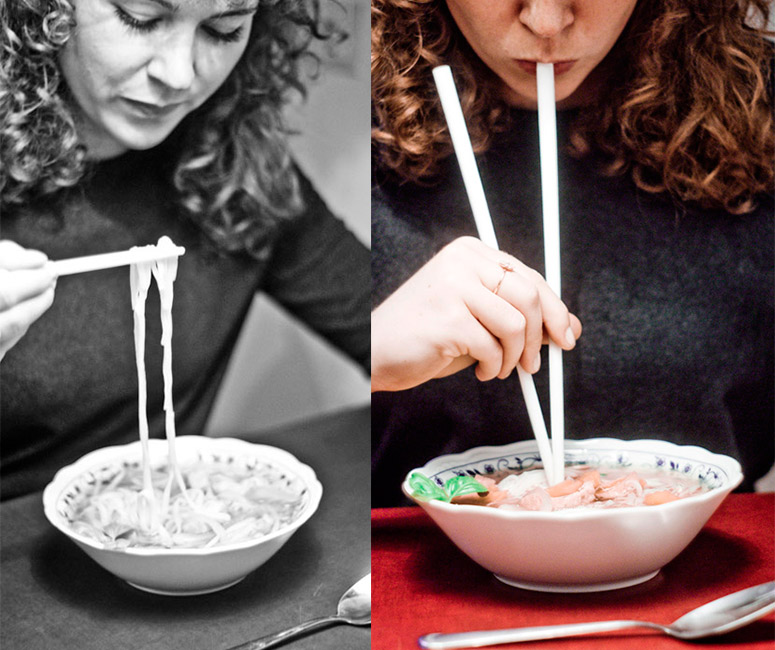 Soup Sticks  - Chopstick Straws