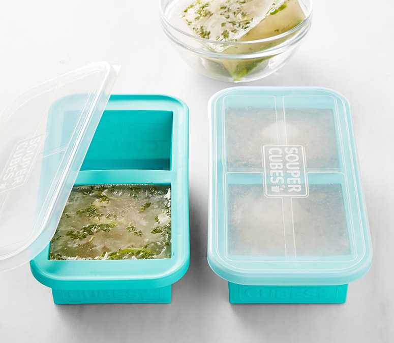 Souper Cubes - Freeze Soups, Stocks, Sauces, and More Into Equal Portions