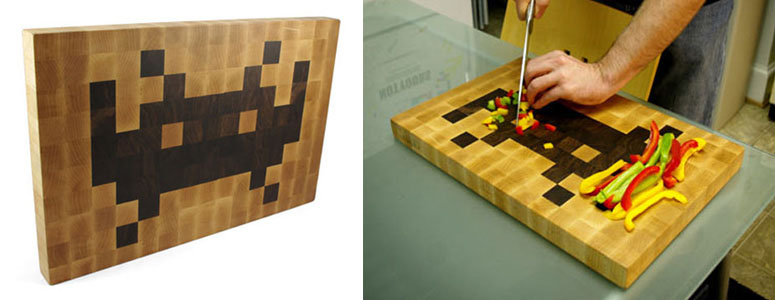 Space Invaders Cutting Boards