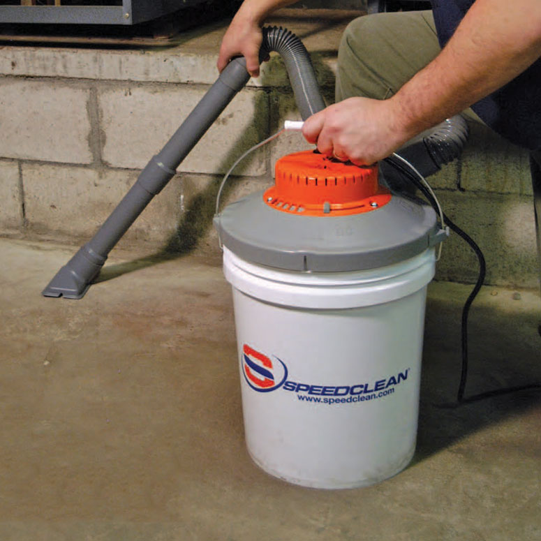 SpeedClean BucketVac - Turns a 5 Gallon Bucket Into a Wet/Dry Vacuum