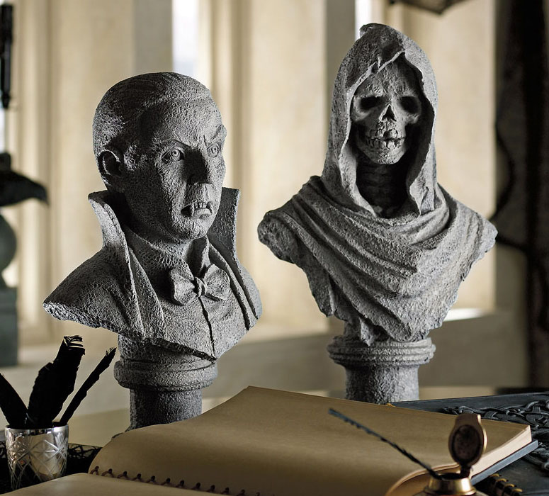 Spooky 3D Busts