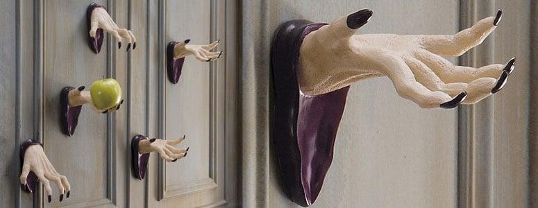 Spooky Wall Mount Halloween Hands