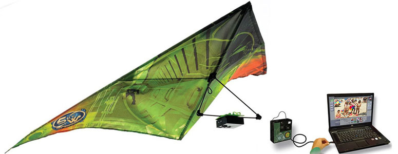 Spy Kite With Digital Camera