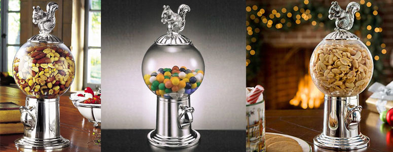 Squirrel - Candy and Nut Dispenser