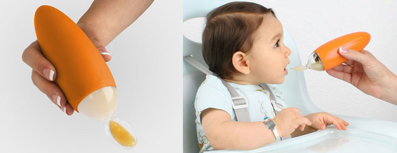 Boon Squirt - Baby Food Dispensing Spoon