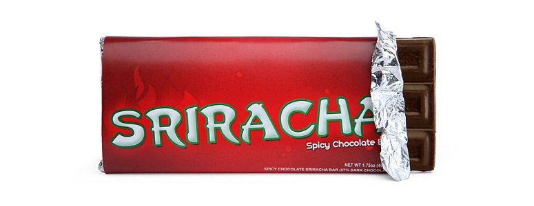 Sriracha Spicy Chocolate Bar
