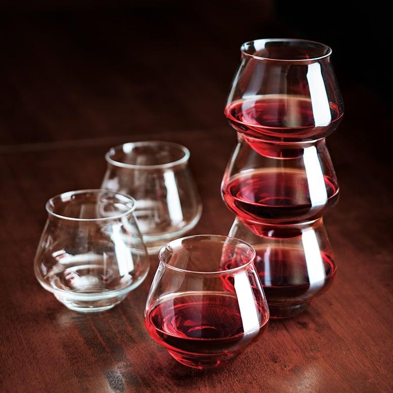 Stackable Italian Wine Glasses The Green Head