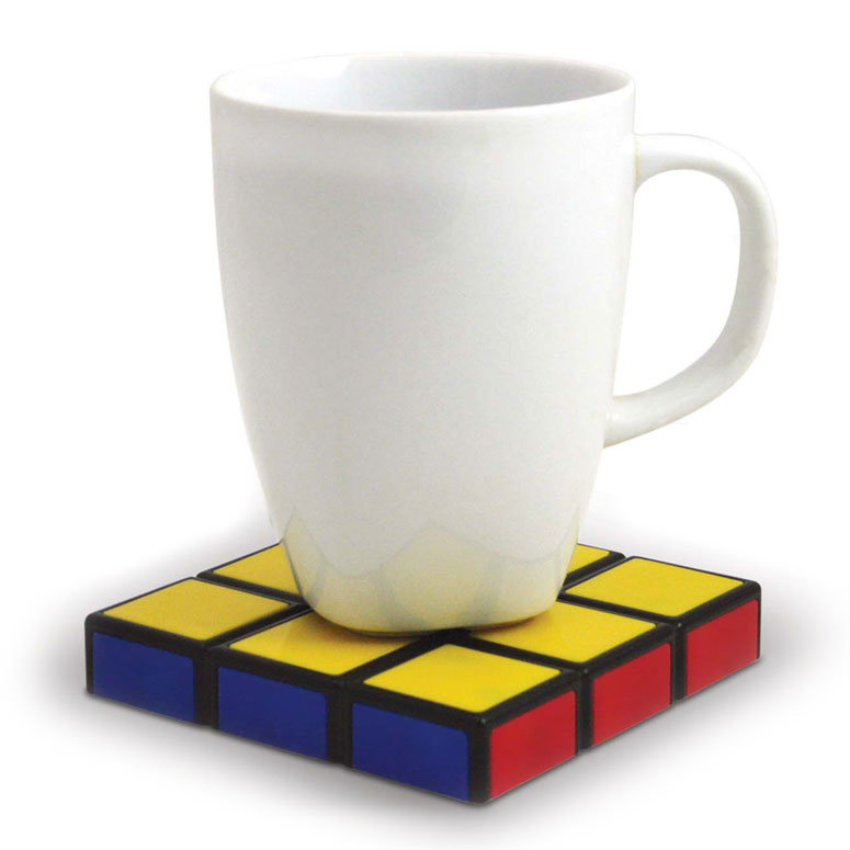 Stackable Rubik's Cube Coasters