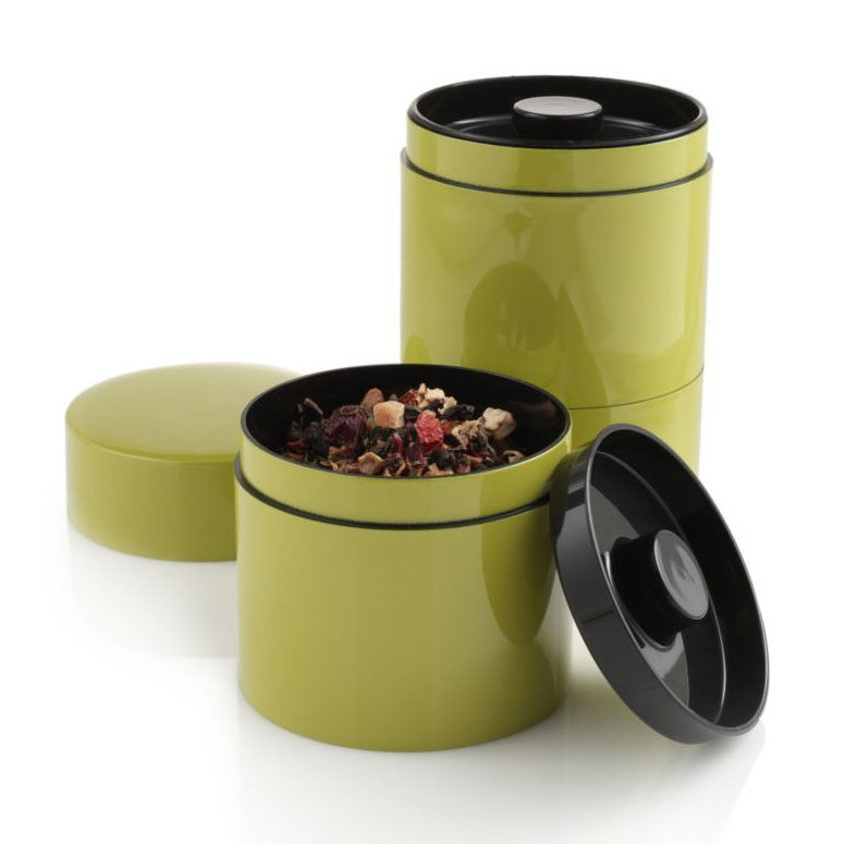 Stacking Tea Tins The Green Head