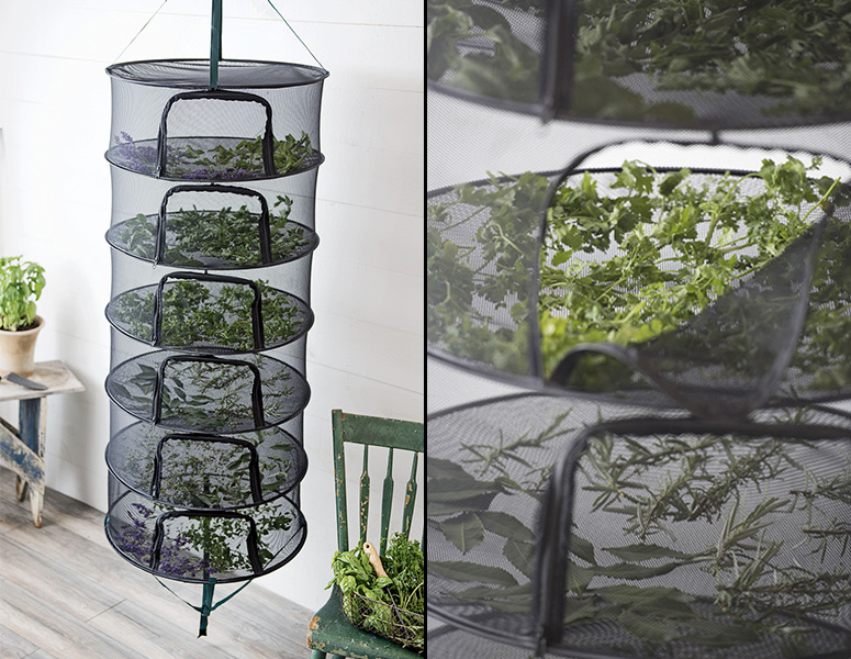 Stack!t - Collapsible Herb and Flower Drying Rack