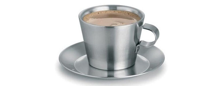 Blomus Thermo Stainless Steel Coffee Cups