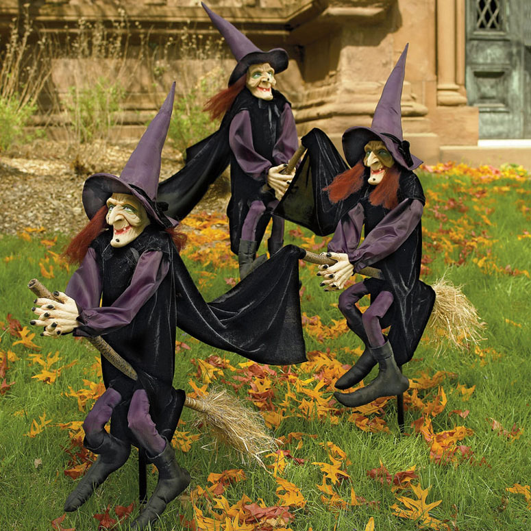 Staked Yard Witches
