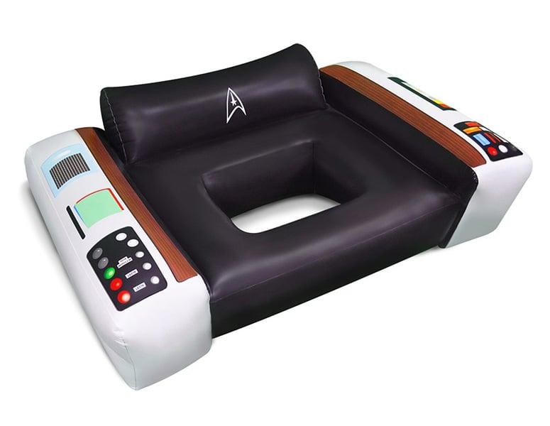 Star Trek Captainu0027s Chair Pool Float