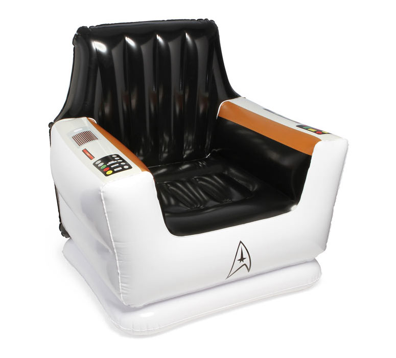 Inflatable Kids Birthday Chair: Star Trek Inflatable Captain's Chair