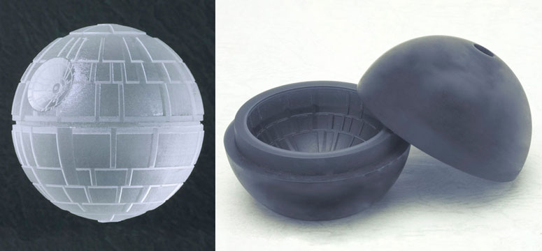 Star Wars Death Star Silicone Ice Cube Tray