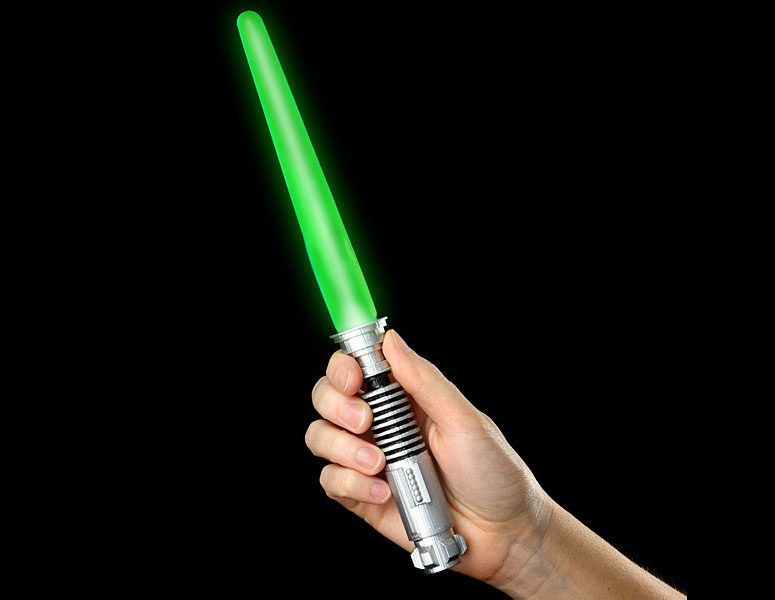 Star Wars Lightsaber Illuminated Ice Pops