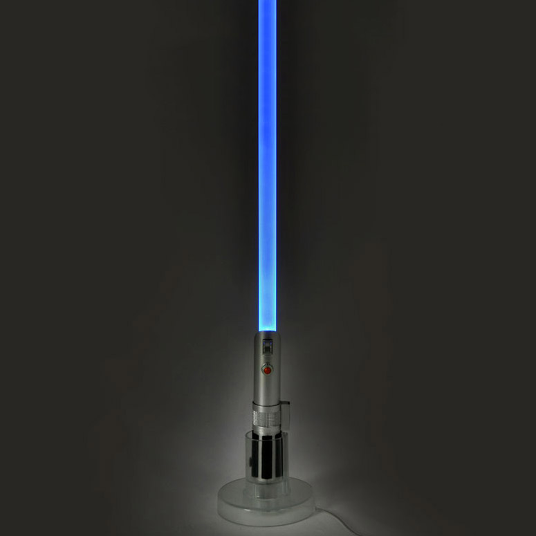 star wars lightsaber usb glow lamp the green head. Black Bedroom Furniture Sets. Home Design Ideas