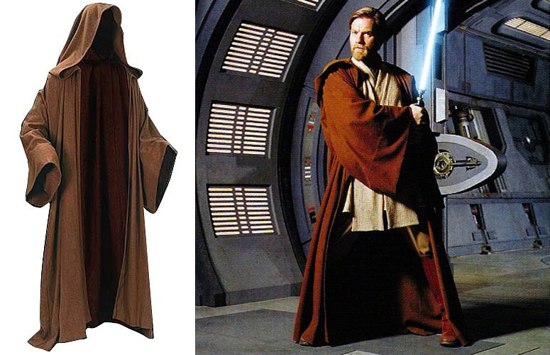 Star Wars Obi Wan Kenobi Jedi Cloak The Green Head