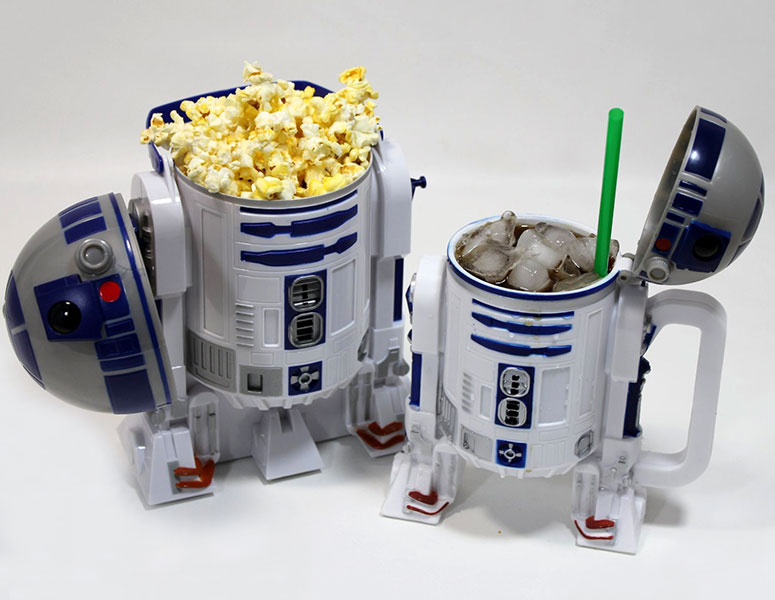 Star Wars R2-D2 Popcorn Bucket and Drink Stein
