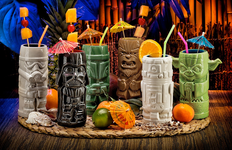 Star Wars Tiki Mugs The Green Head